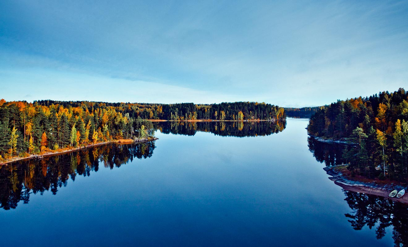 The country of a thousand lakes. Photo: Mek Lappenranta / Visit Finland