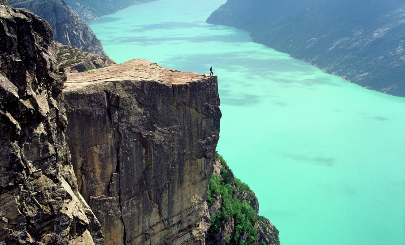 Norway gives you a chance to stand on top of the world- Photo: Per Eide/visitnorway.com